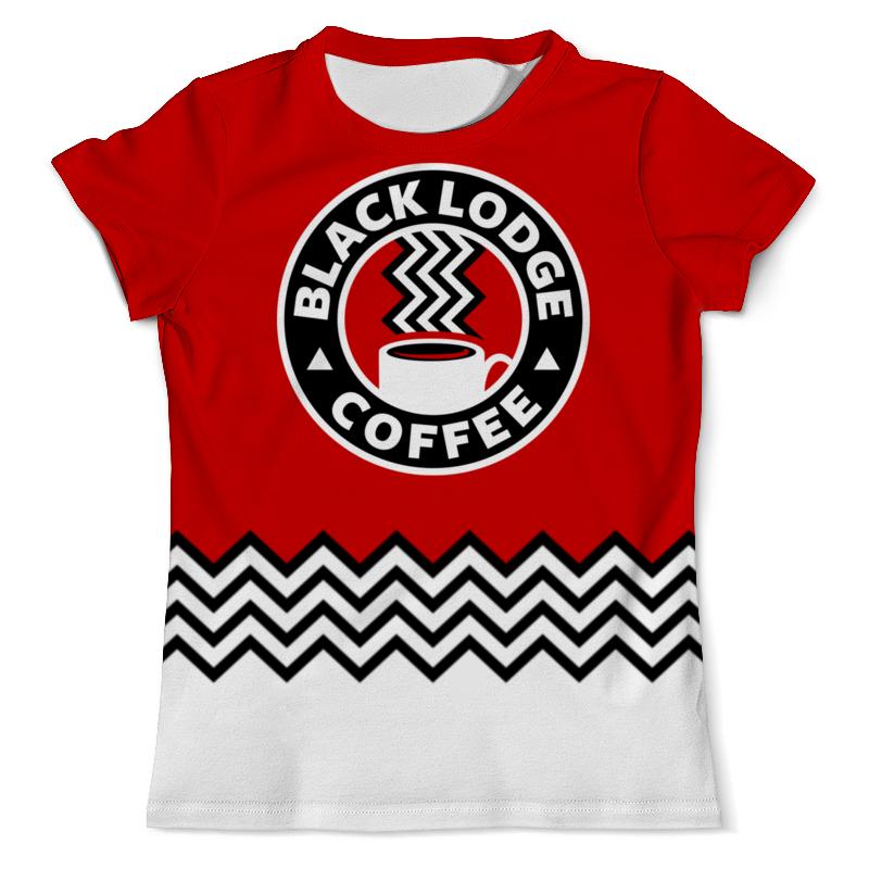 Printio Твин пикс. black lodge coffee