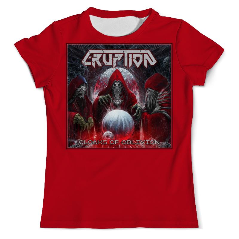 Printio Eruption thrash metal band футболка с полной запечаткой мужская printio tankard thrash metal band