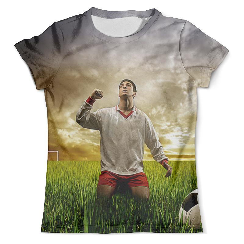 Футболка с полной запечаткой (мужская) Printio Футболист (1) футболка с полной запечаткой мужская printio футболист