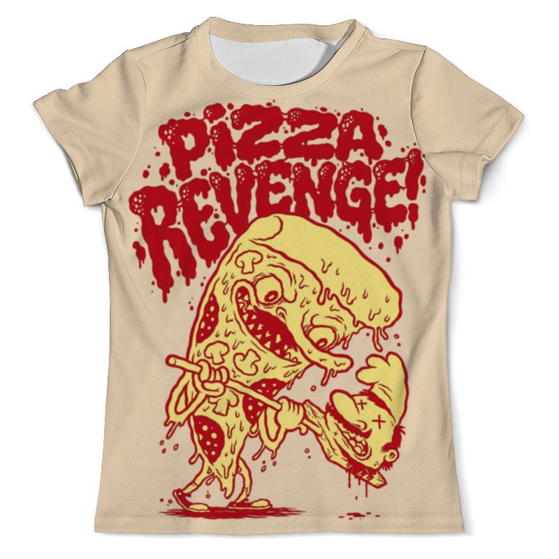 Футболка с полной запечаткой (мужская) Printio Pizza revenge свитшот унисекс с полной запечаткой printio pizza revenge