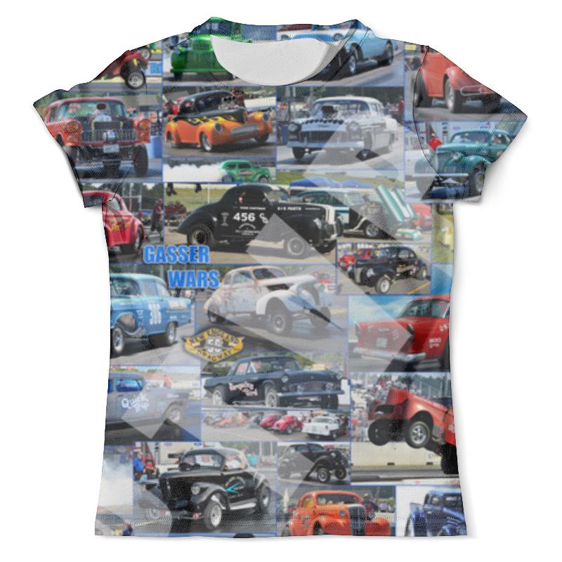 Футболка с полной запечаткой (мужская) Printio Автомобили автомобили