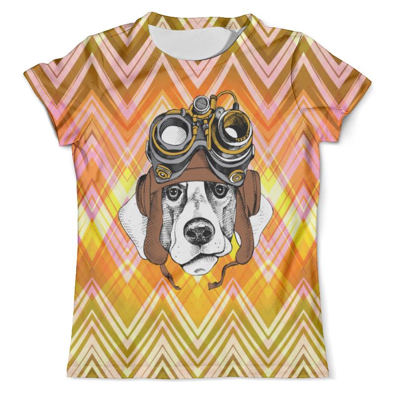 Футболка с полной запечаткой (мужская) Printio Пес летчик футболка с полной запечаткой для мальчиков printio пес летчик