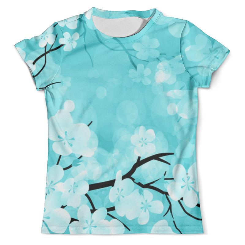 Футболка с полной запечаткой (мужская) Printio Цветочки футболка с полной запечаткой printio космоскоп 25