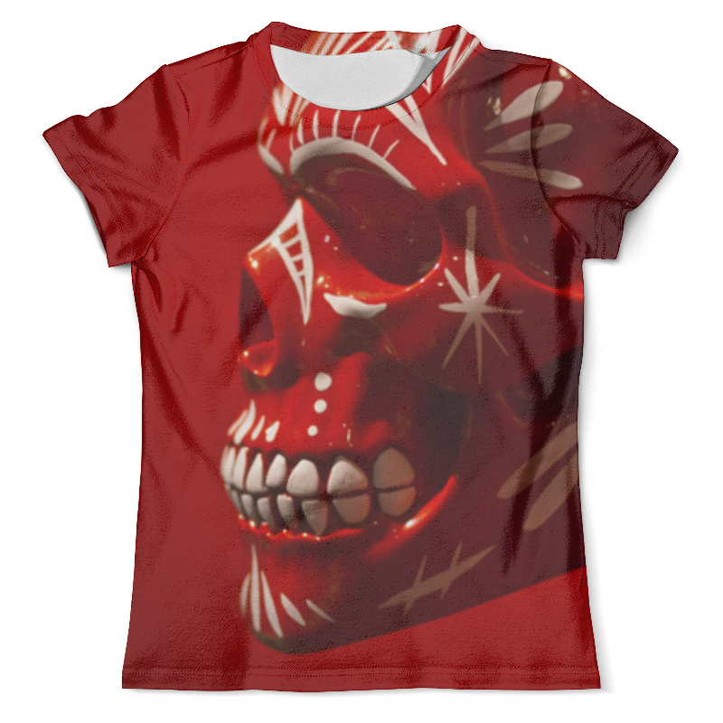 Футболка с полной запечаткой (мужская) Printio Skull - 6 футболка с полной запечаткой мужская printio old map page 6