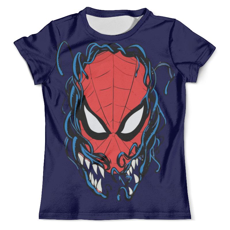 Футболка с полной запечаткой (мужская) Printio Человек паук и веном бендис б багли м современный человек паук том 4 веном