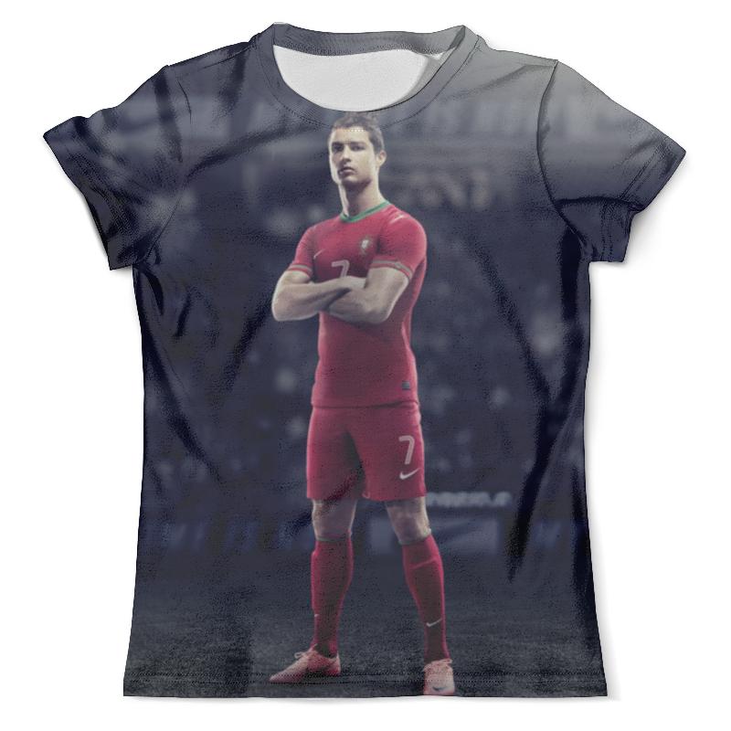все цены на Футболка с полной запечаткой (мужская) Printio Ronaldo онлайн