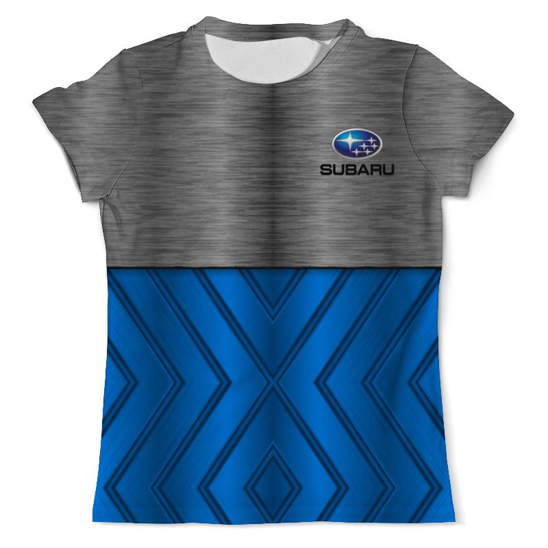 Футболка с полной запечаткой (мужская) Printio Subaru молдинги subaru 15