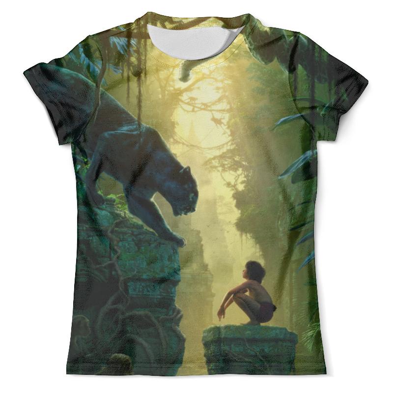 Футболка с полной запечаткой (мужская) Printio Книга джунглей (маугли) футболка с полной запечаткой для мальчиков printio книга джунглей the jungle book