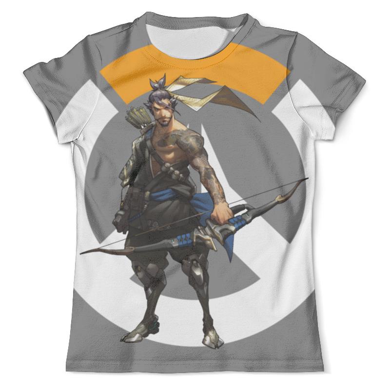 Футболка с полной запечаткой (мужская) Printio Overwatch hanzo / овервотч хандзо футболка классическая printio overwatch хандзо