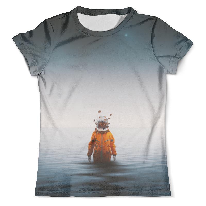 Футболка с полной запечаткой (мужская) Printio Space in ocean toys in space