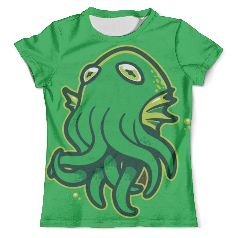 Футболка с полной запечаткой (мужская) Printio Octopus / осьминог футболка с полной запечаткой для мальчиков printio octopus