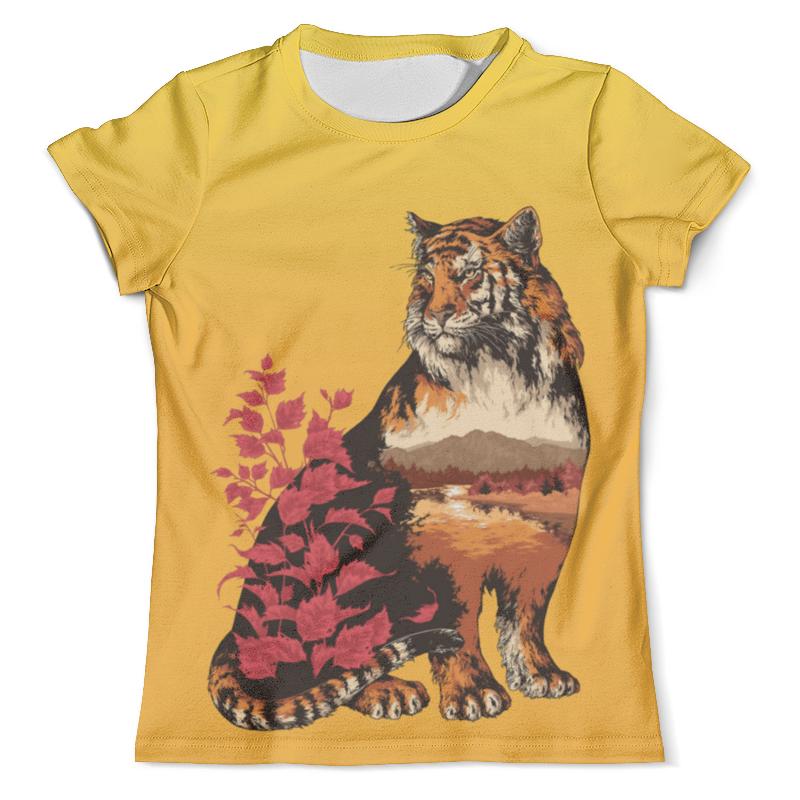 Футболка с полной запечаткой (мужская) Printio Тигр арт (1) футболка с полной запечаткой мужская printio тигр и вода