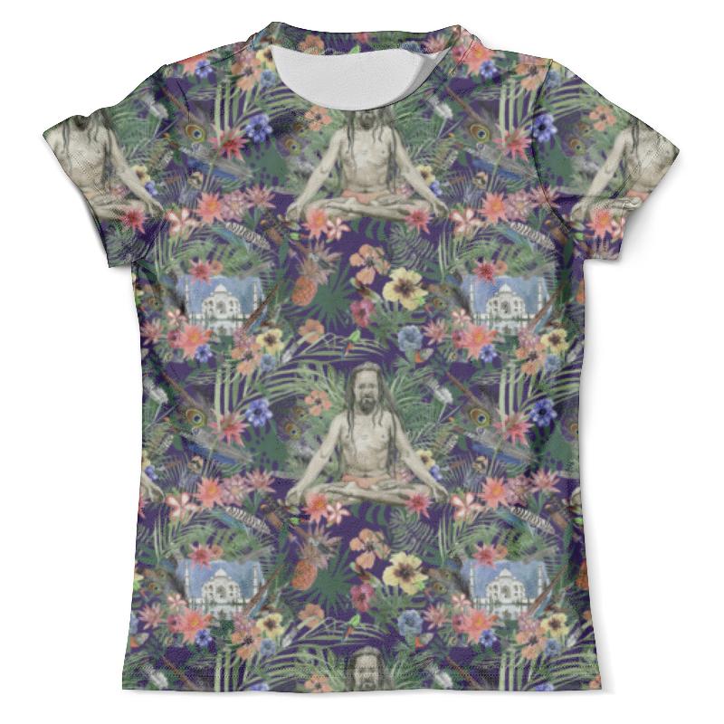 Футболка с полной запечаткой (мужская) Printio Yog &taj mahal design (night) футболка с полной запечаткой мужская printio yog