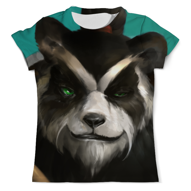 Футболка с полной запечаткой (мужская) Printio Панда (panda) футболка с полной запечаткой мужская printio панда panda