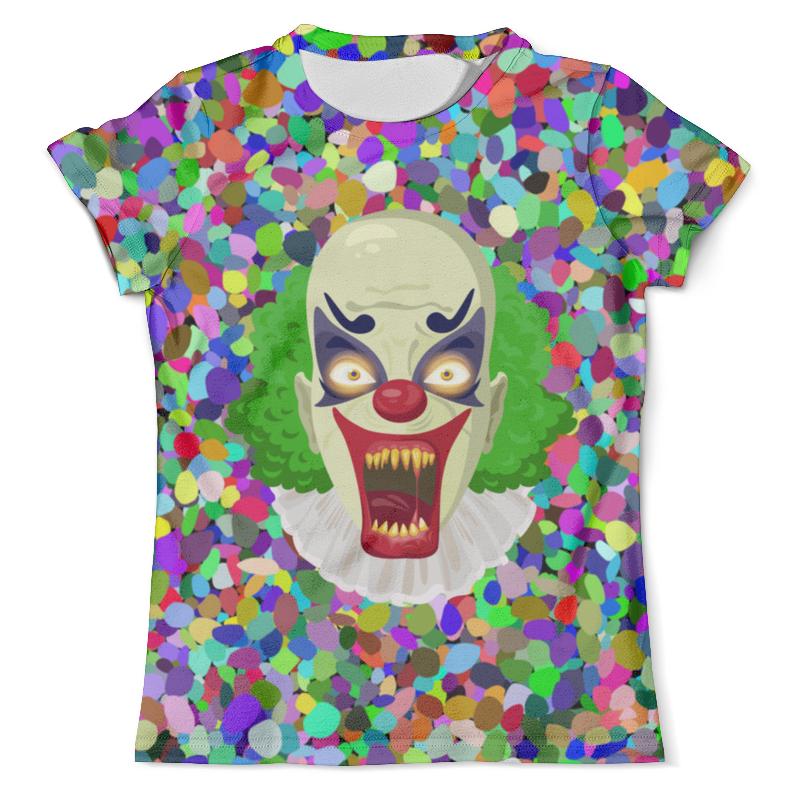 Футболка с полной запечаткой (мужская) Printio Клоун футболка с полной запечаткой для мальчиков printio клоун