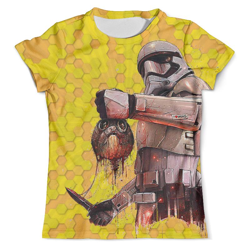 Футболка с полной запечаткой (мужская) Printio Star wars design (stormtrooper) lepin star wars millennium falcon building blocks