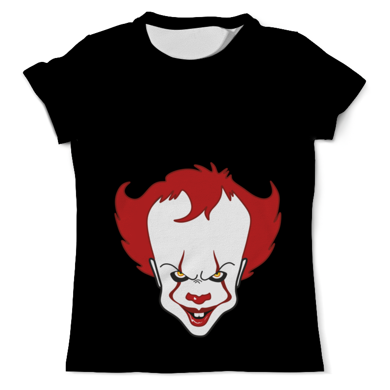Футболка с полной запечаткой (мужская) Printio it танцующий клоун футболка с полной запечаткой женская printio стивен кинг оно