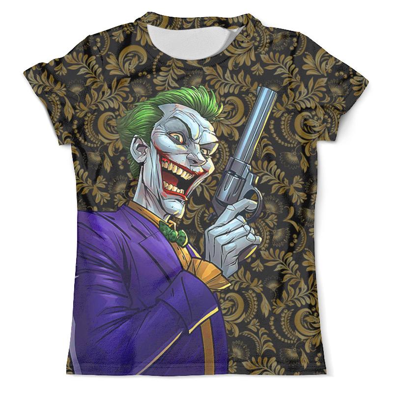 Футболка с полной запечаткой (мужская) Printio The joker футболка с полной запечаткой мужская printio batman x joker