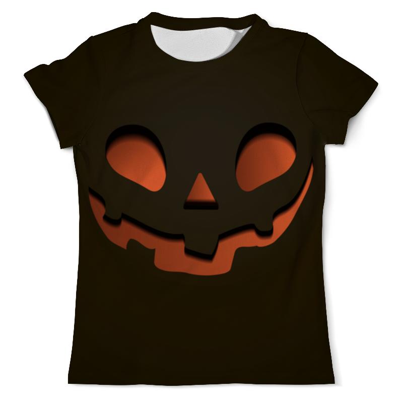Футболка с полной запечаткой (мужская) Printio Тыква (happy halloween) футболка с полной запечаткой мужская printio happy castle halloween