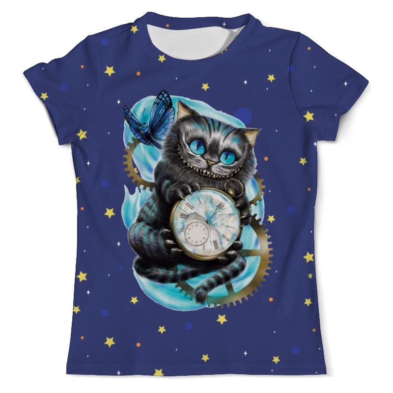 Printio Чеширский котик футболка с полной запечаткой мужская printio милый котик