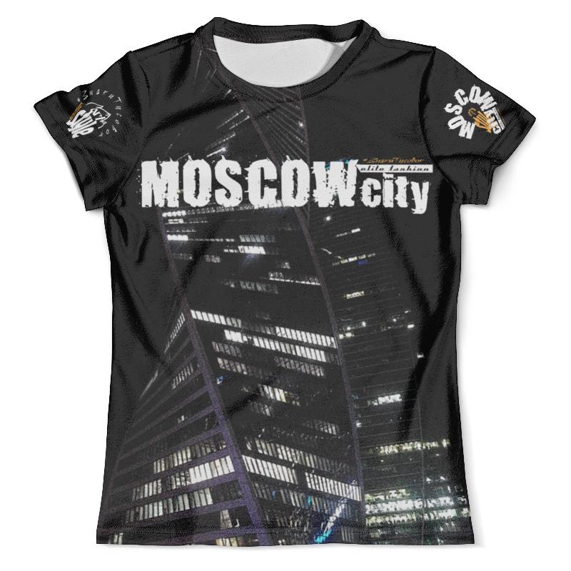 Футболка с полной запечаткой (мужская) Printio Moscow-city style, elite fashion fashion style