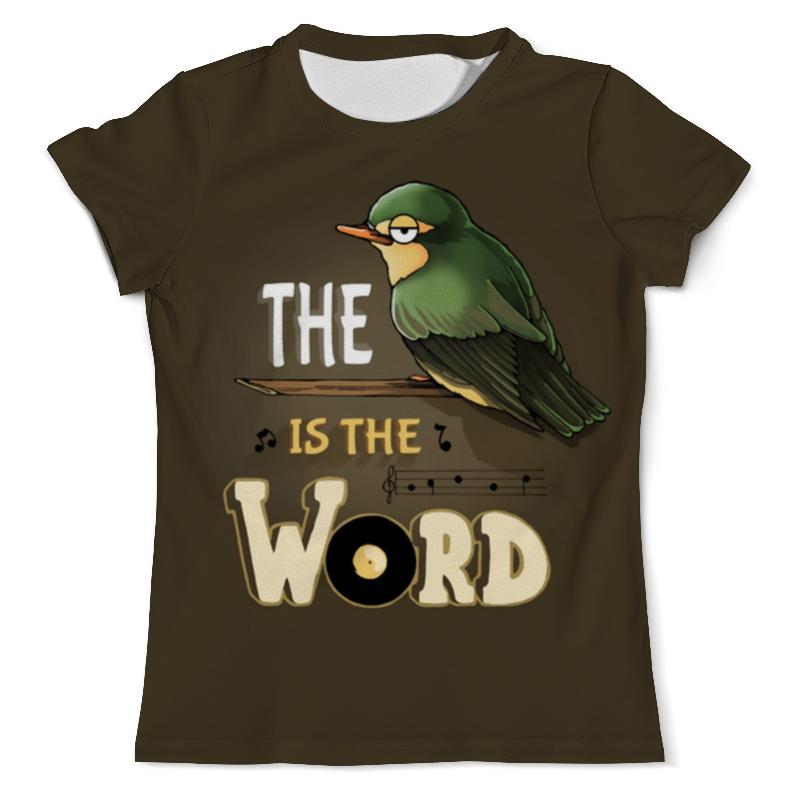 Printio Птичка футболка с полной запечаткой мужская printio ночная птичка