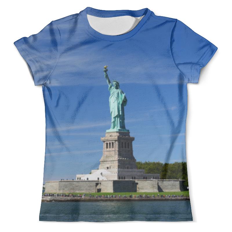 Футболка с полной запечаткой (мужская) Printio Статуя свободы футболка с полной запечаткой мужская printio 3d статуя