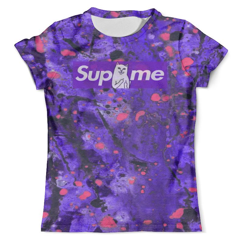 Футболка с полной запечаткой (мужская) Printio Supreme краски футболка с полной запечаткой мужская printio supreme краски