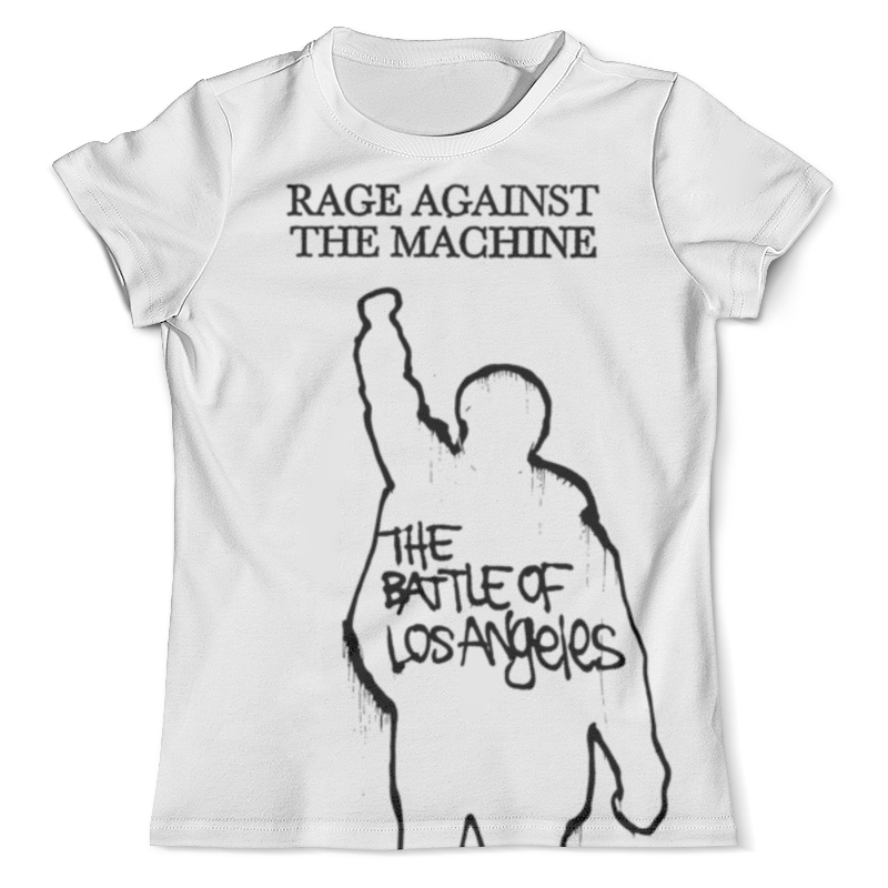 Футболка с полной запечаткой (мужская) Printio Rage against the machine футболка с полной запечаткой мужская printio street of rage