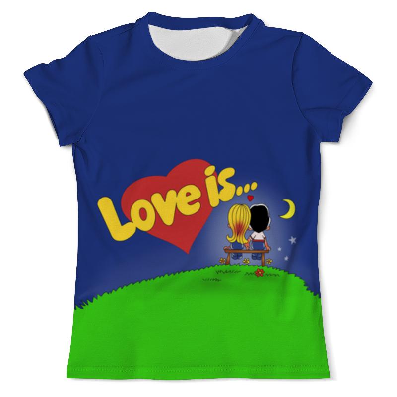 Футболка с полной запечаткой (мужская) Printio Love is...ночная романтика футболка с полной запечаткой мужская printio любовь повсюду love is all around