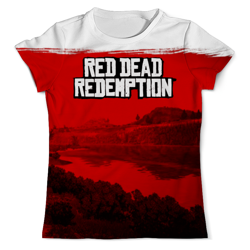 все цены на Футболка с полной запечаткой (мужская) Printio Red dead redemption game онлайн