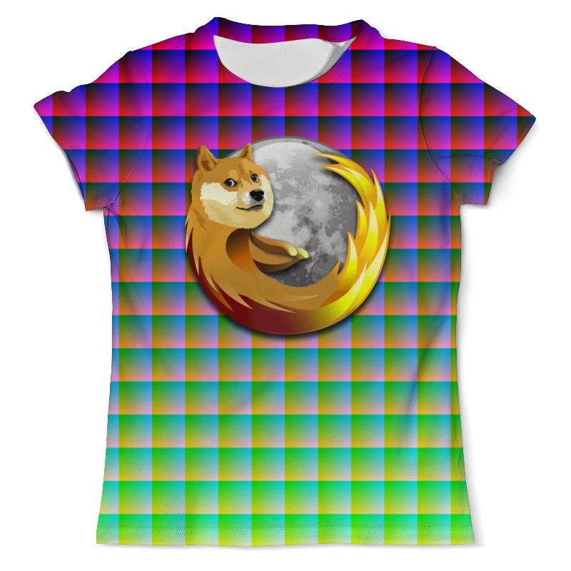 Футболка с полной запечаткой (мужская) Printio Doge firefox футболка с полной запечаткой мужская printio doge