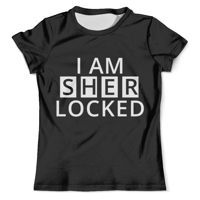 Футболка с полной запечаткой (мужская) Printio I am sher locked