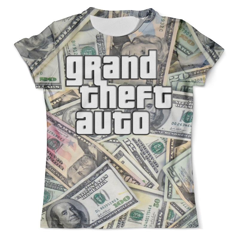 Printio Grand theft auto (dollars) цена и фото