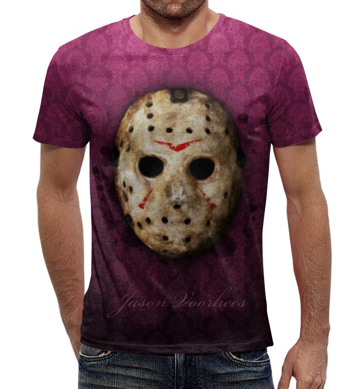 Футболка с полной запечаткой Printio Джейсон вурхиз (пятница 13) футболка с полной запечаткой для девочек printio джейсон