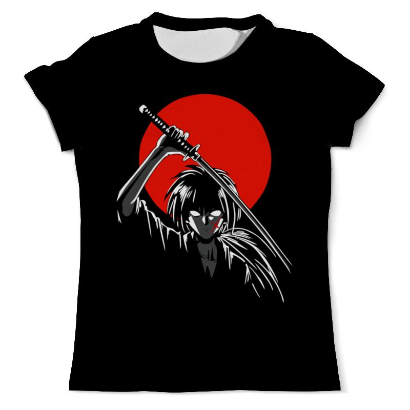 Футболка с полной запечаткой (мужская) Printio Бродяга кэнсин ( rurouni kenshin ) футболка с полной запечаткой для девочек printio пёс бродяга
