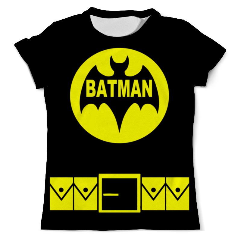 Футболка с полной запечаткой (мужская) Printio Бэтмен ( batman ) футболка с полной запечаткой мужская printio batman x joker бэтмен