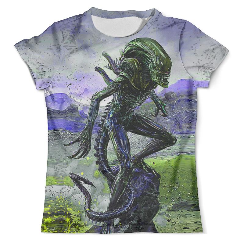 Футболка с полной запечаткой (мужская) Printio Alien design (color) футболка с полной запечаткой мужская printio color