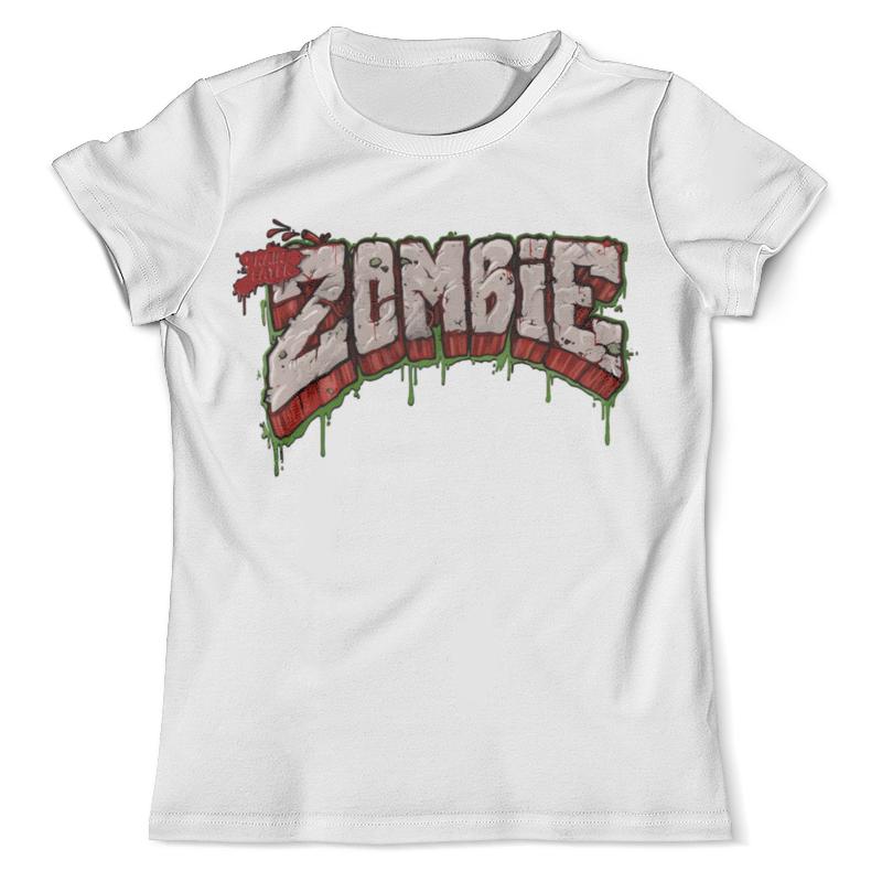 цена на Футболка с полной запечаткой (мужская) Printio Зомби ( zombie )
