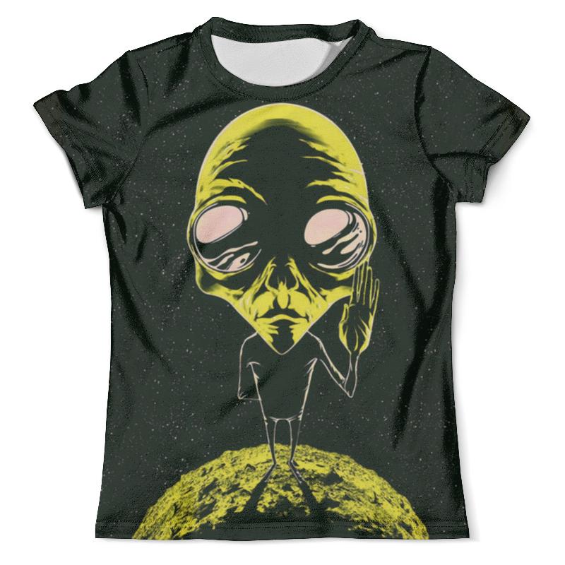 Футболка с полной запечаткой (мужская) Printio Ufo: unidentified flying object футболка для беременных printio object