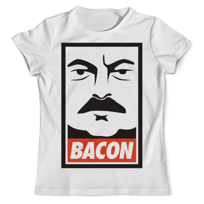 Футболка с полной запечаткой (мужская) Printio Ron swanson (bacon) ron dorff футболка