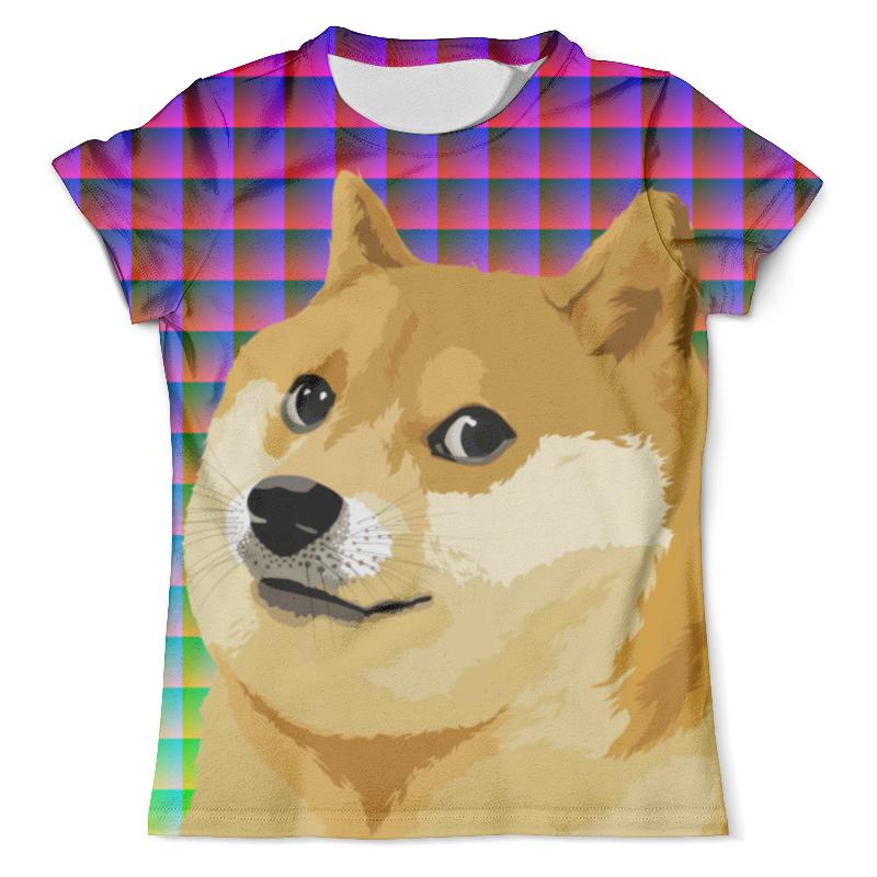 Футболка с полной запечаткой (мужская) Printio Doge doge футболка с полной запечаткой мужская printio doge