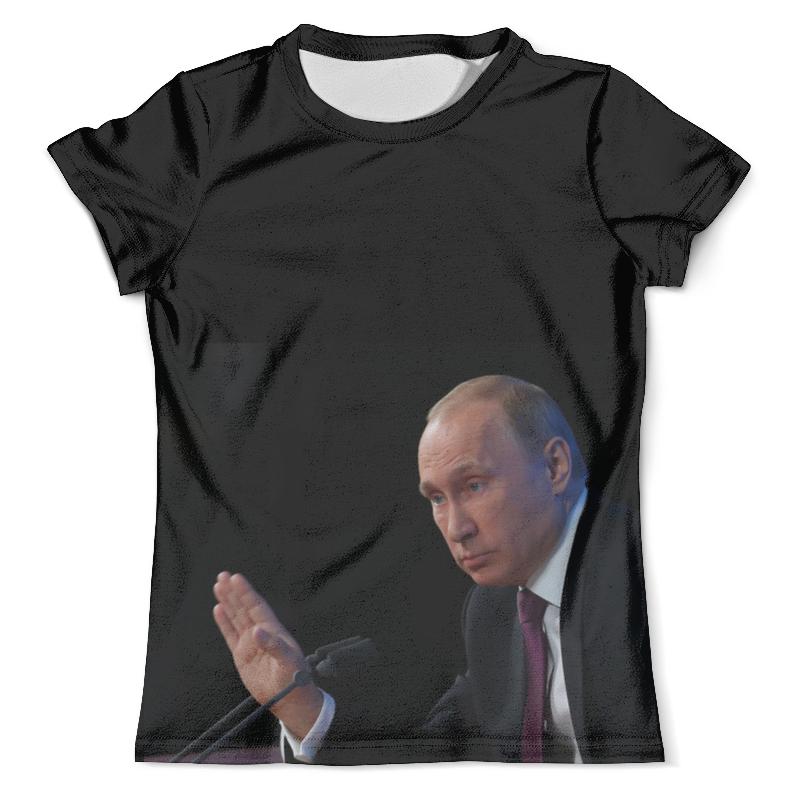 Футболка с полной запечаткой (мужская) Printio Путин в.в футболка с полной запечаткой мужская printio путин casual collection