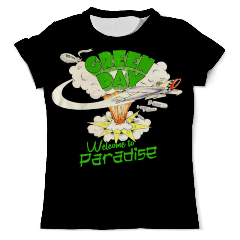 Фото - Футболка с полной запечаткой (мужская) Printio Green day футболка с полной запечаткой мужская printio green day