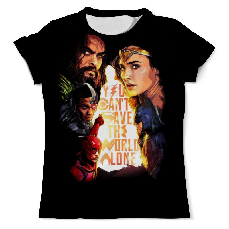Printio Лига справедливости / justice league футболка с полной запечаткой мужская printio лига справедливости justice league dark side