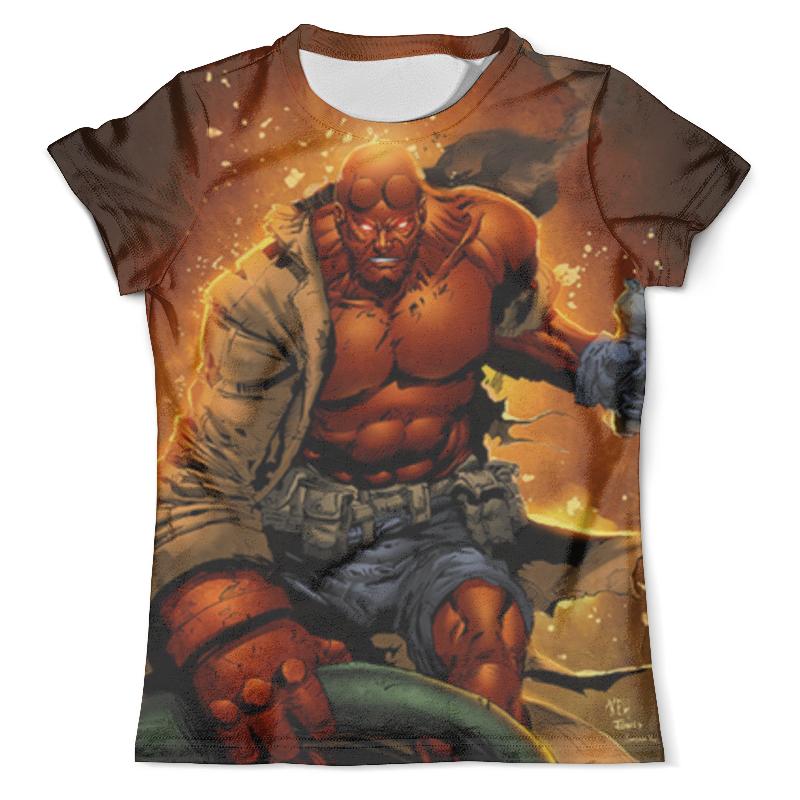 Футболка с полной запечаткой (мужская) Printio Хеллбой / hellboy футболка с полной запечаткой женская printio хеллбой hellboy
