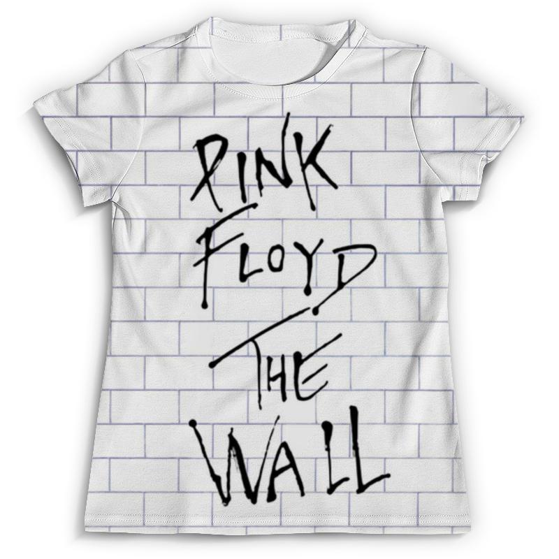 Футболка с полной запечаткой (мужская) Printio Pink floyd the wall pink floyd meddle a classic album under review