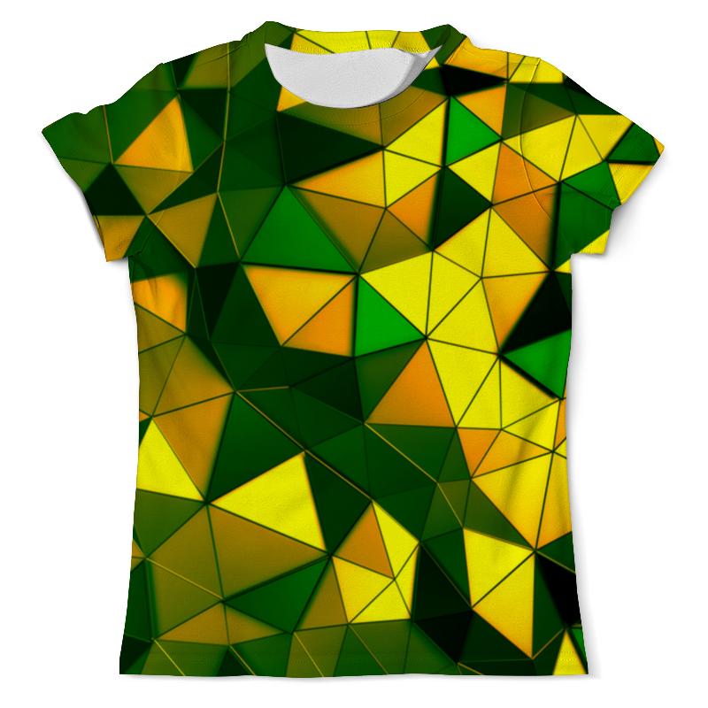 Футболка с полной запечаткой (мужская) Printio Желто-зеленые стекла толстовка с полной запечаткой printio зеленые стекла