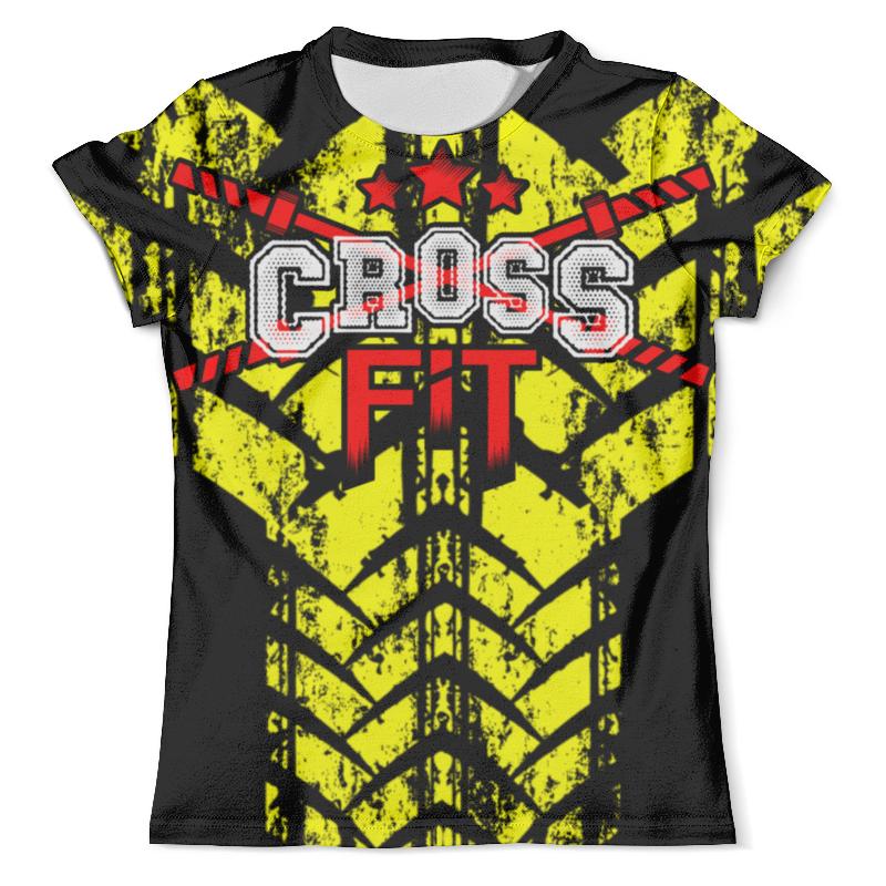 Футболка с полной запечаткой (мужская) Printio Crossfit мужская футболка dermay crossfit jap225