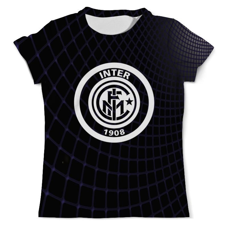 Футболка с полной запечаткой (мужская) Printio Inter цена